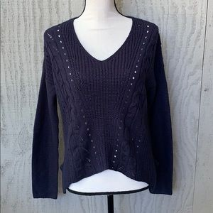 Converse V-Neck Sweater.